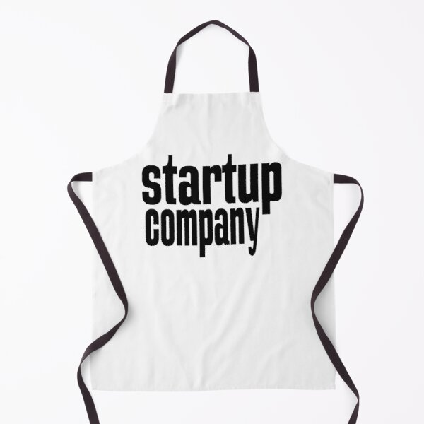 Startup Company Just Believe in Yourself Inspirational Entrepreneur Apron