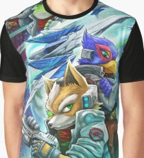 Space Animals Graphic T-Shirt