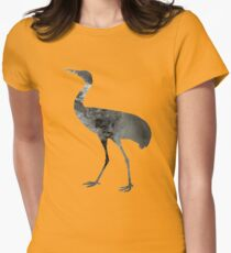 Crane Womens Fitted T-Shirt