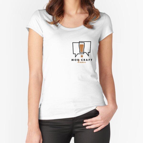 MobCraft Logo - Light Fitted Scoop T-Shirt