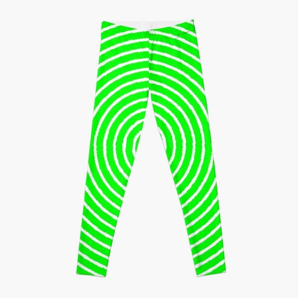 Green spiral Leggings