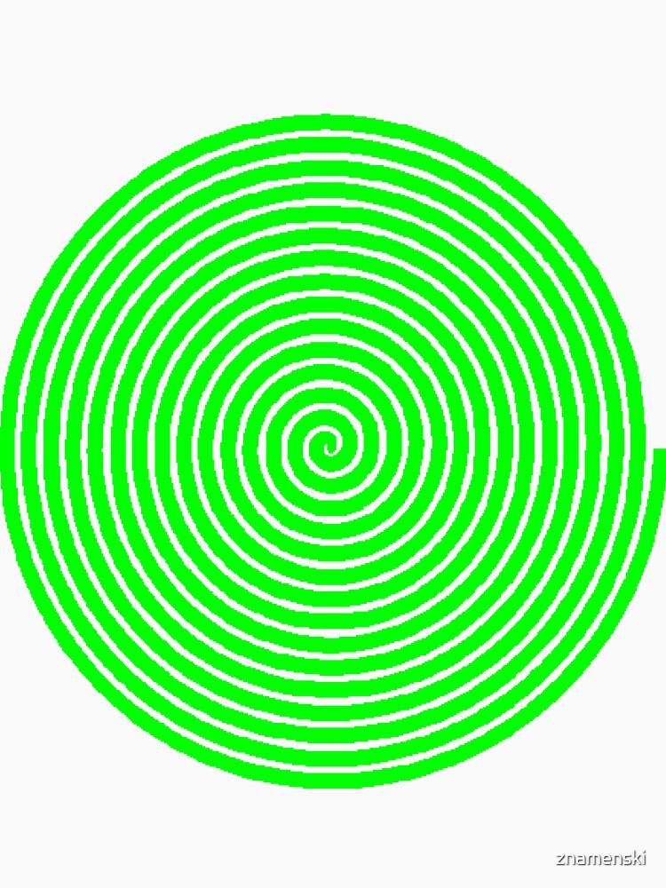 Green spiral by znamenski