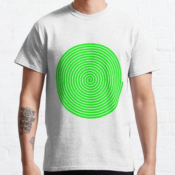 Green spiral Classic T-Shirt