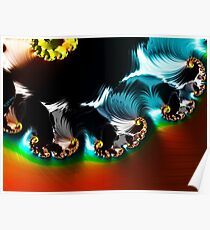Wave Vortex Poster