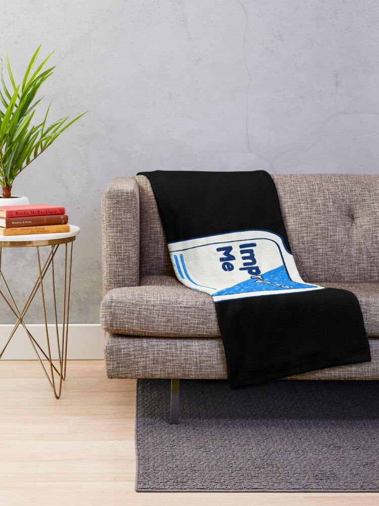 Alternate view of Impress Me Throw Blanket