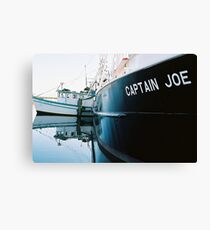"""Captain Joe"" Fishing Vessel Canvas Print"