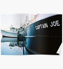 """Captain Joe"" Fishing Vessel Poster"