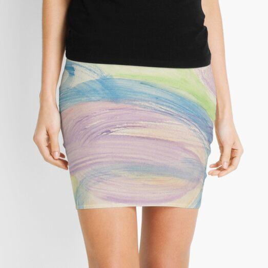 pastel storm Mini Skirt