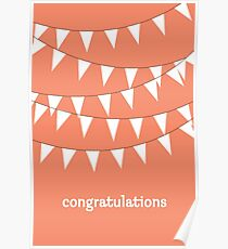 Congratulations Engagement: Posters | Redbubble
