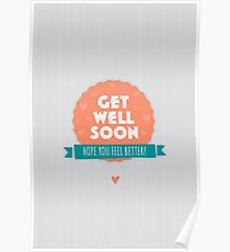 get well soon posters redbubble