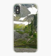 trail in heather meadows, wa, usa iPhone Case