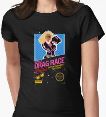 8-bit RuPaul's Drag Race Womens Fitted T-Shirt