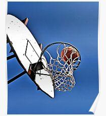 Shooting Hoops Poster