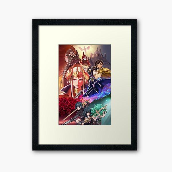 Fire Emblem Three Houses | Poster Framed Art Print