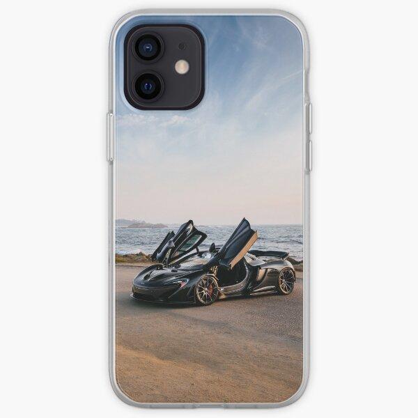 McLaren P1 à la recherche de la route parfaite Coque souple iPhone