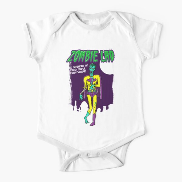 Zombie Lad - Pack Of Heroes Short Sleeve Baby One-Piece