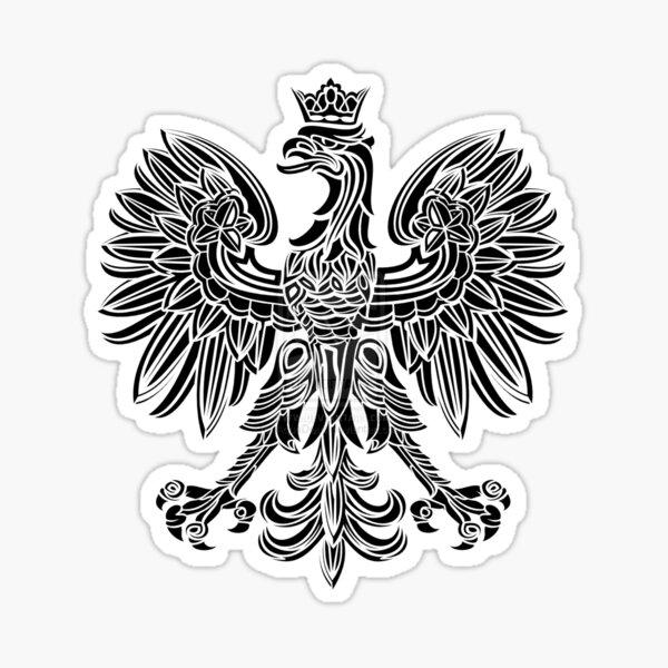 "PolishFlag Poland Eagle Polish Flag Bird Symbol Vinyl Decal Sticker 4/"""