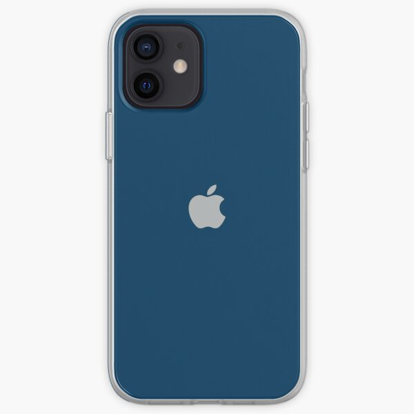 iPhone 12 - Azul Funda blanda para iPhone
