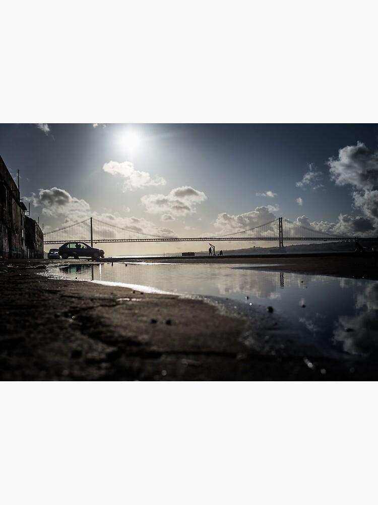 Lisbon Ponte 25 de Abril von HeidiGrell