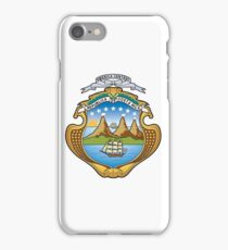 Escudo de Costa Rica  iPhone Case/Skin