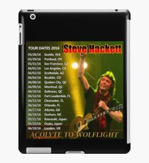 STEVE HACKETT TOUR DATES 2016 iPad Case/Skin