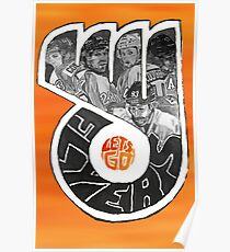 Lets Go Flyers Poster