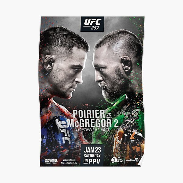 Fight Night Posters Redbubble