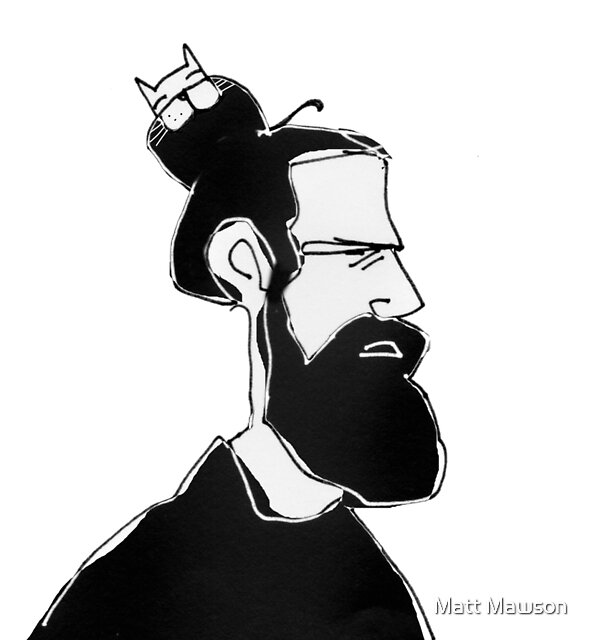 manbun by Matt Mawson