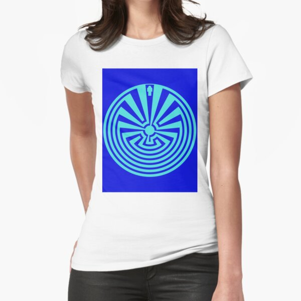 I'itoi or I'ithi is, in the cosmology of the O'odham peoples of Arizona, the mischievous creator god who resides in a cave below the peak of Baboquivari Mountain Fitted T-Shirt