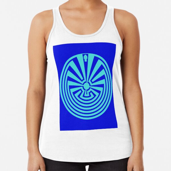 I'itoi or I'ithi is, in the cosmology of the O'odham peoples of Arizona, the mischievous creator god who resides in a cave below the peak of Baboquivari Mountain Racerback Tank Top