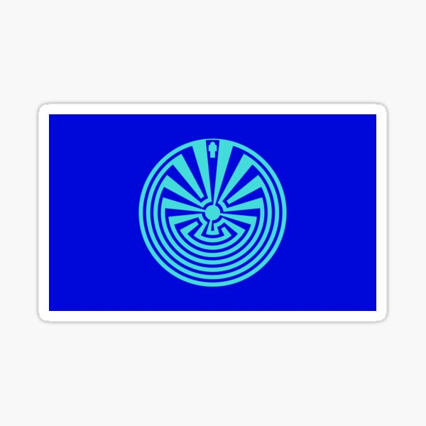 I'itoi or I'ithi is, in the cosmology of the O'odham peoples of Arizona, the mischievous creator god who resides in a cave below the peak of Baboquivari Mountain Sticker