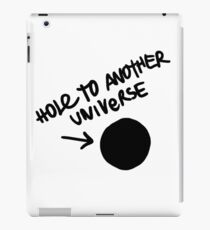 Hole To Another Universe iPad Case/Skin