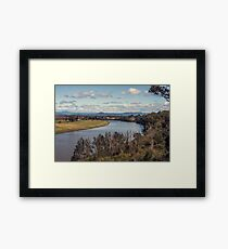 Macleay River, Kempsey NSW Australia Framed Print