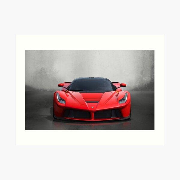 Ferrari Laferrari Lámina artística