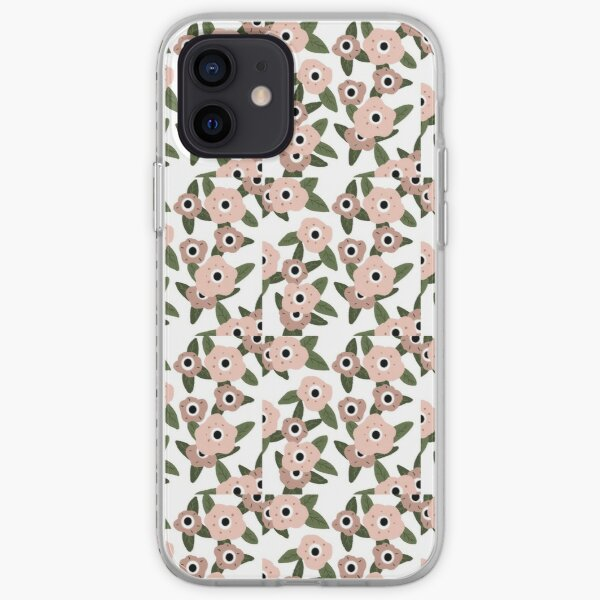 Garden flowers iPhone Soft Case