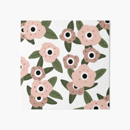Garden flowers Art Board Print