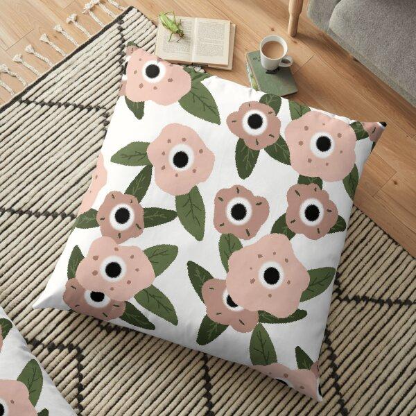 Garden flowers Floor Pillow