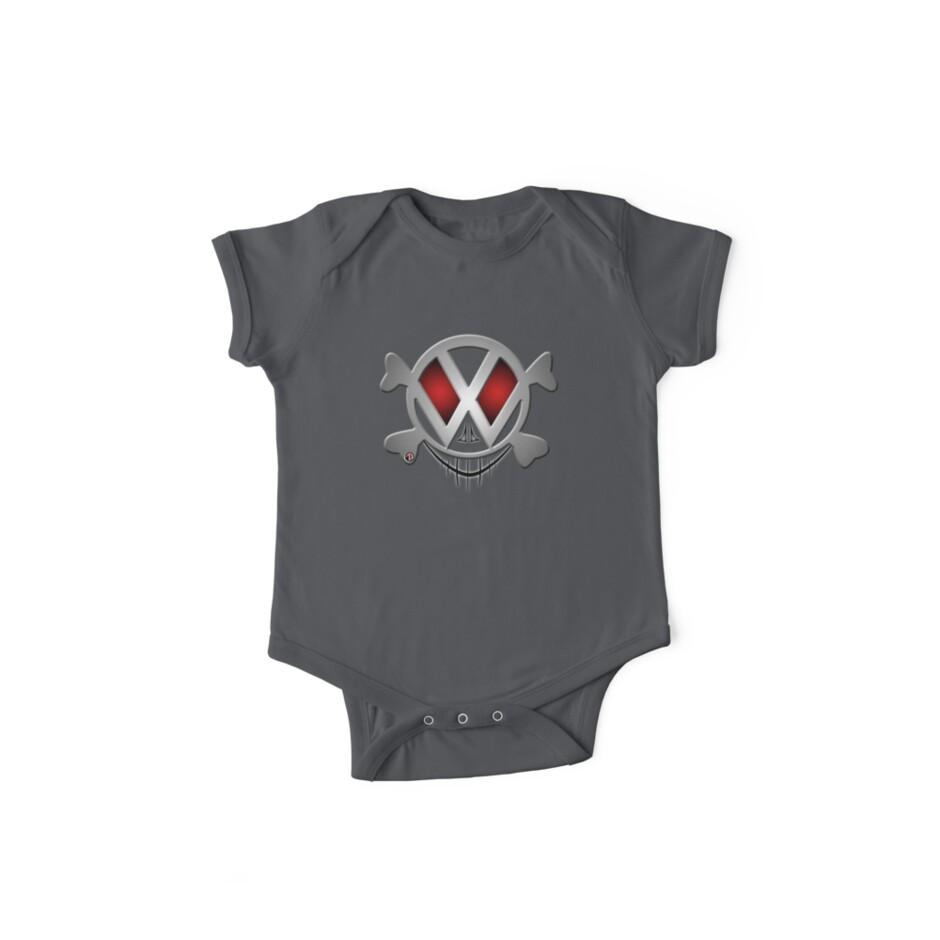 VW Skull-n-Bones - VW Shirt by Zack Nichols