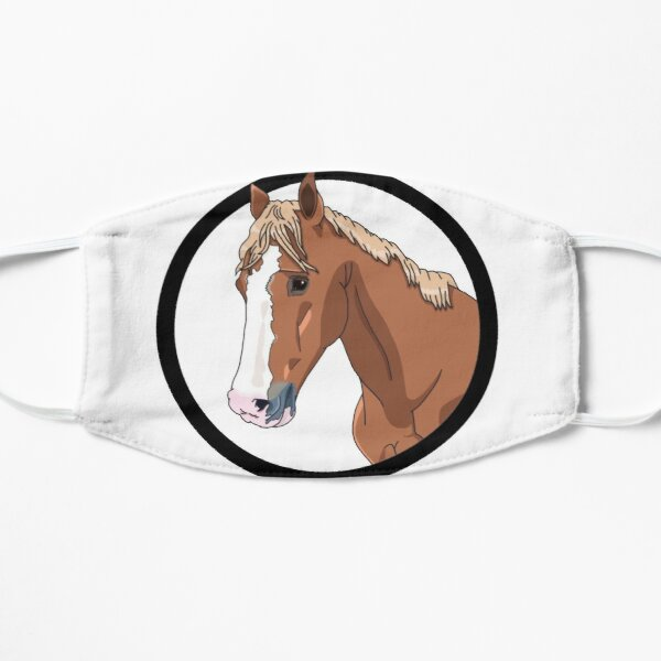 Chestnut Horse Face Masks Redbubble