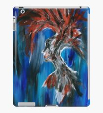 Abstract Silhouette iPad Case/Skin