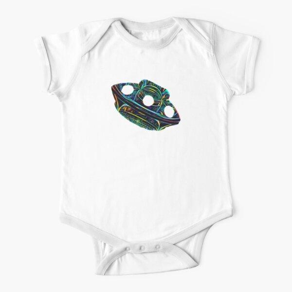 Galactic Exploration  Short Sleeve Baby One-Piece