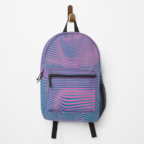 Cool hologram designed lines Backpack