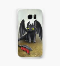 Toothless Dragon inspired from How To train Your Dragon. Samsung Galaxy Case/Skin