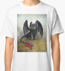 Toothless Dragon inspired from How To train Your Dragon. Classic T-Shirt