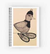 Snowshoeing Francis Spiral Notebook