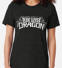 The Last Dragon Kung Fu Gear Tri-blend T-Shirt