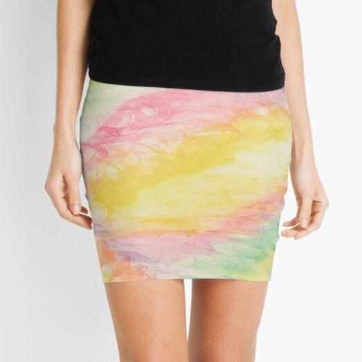 diamond pastel Mini Skirt