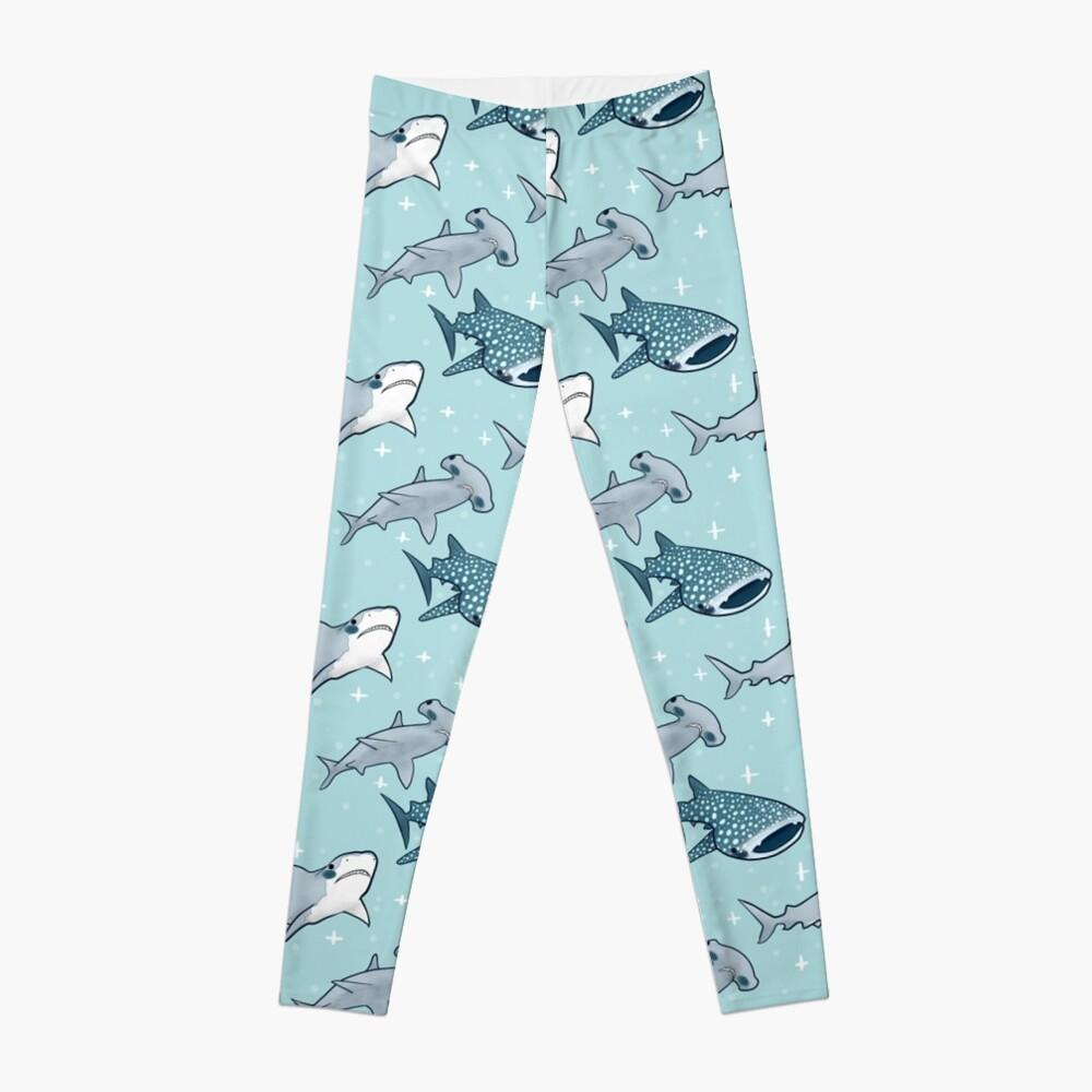 Shark Pattern Leggings