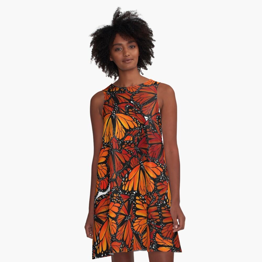 Schmetterlinge - Butterflies A-Line Dress