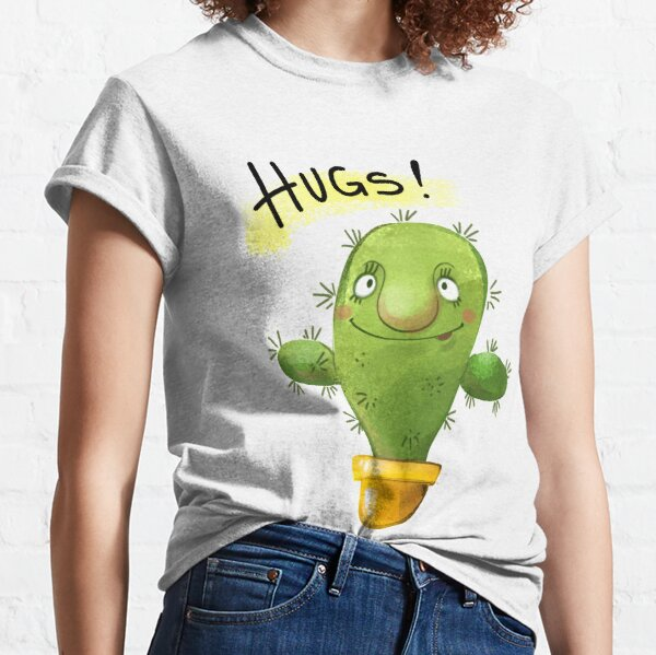 Cactus hugs Classic T-Shirt